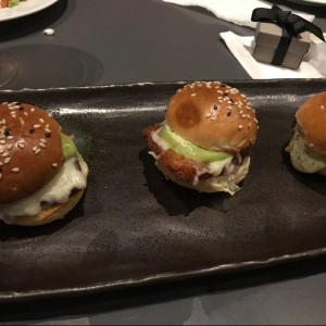 Tapas - Sliders de Pollo
