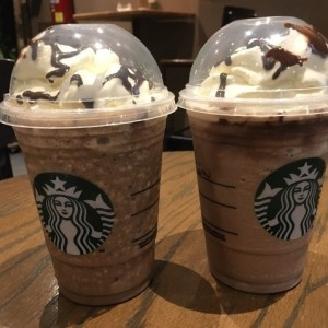 Jaba chip y chocolate cream frappes