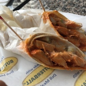 wrap de pollo buffalo