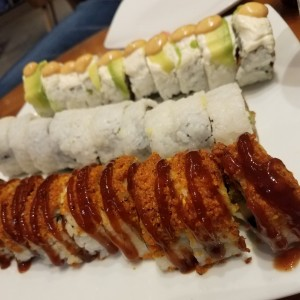 Kronchi Roll, California Roll y Baby Roll
