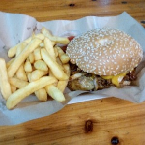 Don Chancho's Pull Pork Burger