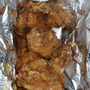wings en salsa sweet chilli