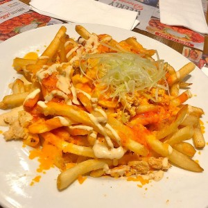 Loaded Buffalo Fries