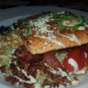 grilled salmon mexi bowl