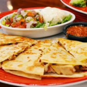 chiken quesadillas