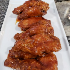 CaneHoney BBQ wings