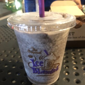 cookies & cream ice blended