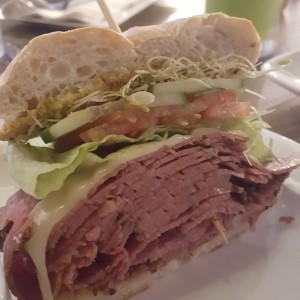 smoked meat bagel