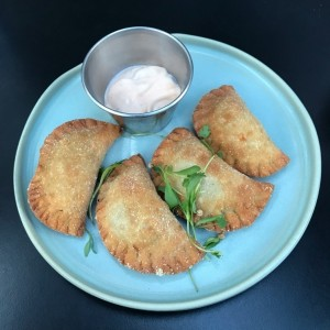 Empanaditas de zuchini y queso