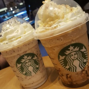 frapuccinos de smores y cookies and cream