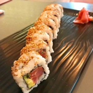 SUSHI BAR - FIRE TUNA ROLL