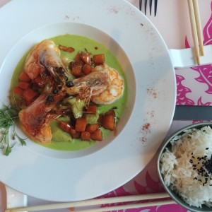 THAI SEAFOOD GREEN CURRY - TAILANDIA