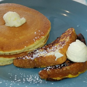 Pancakes y french toast