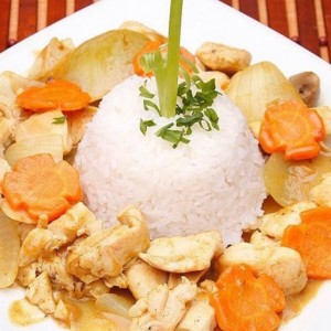 Pollo Curry Tailandes