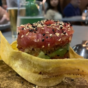 Para compartir - Tuna tartar night