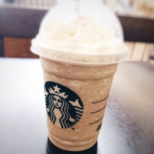 Honey Caramelized Frappuccino😋