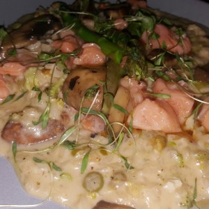 rissotto de salmon