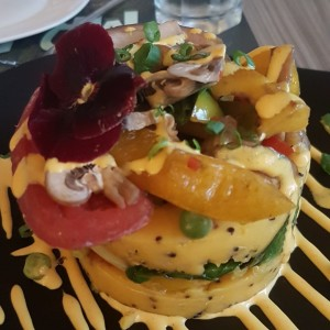 causa vegetariana