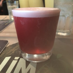 pisco sour de chicha morada