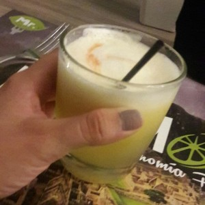 Pisco sour -maracuya