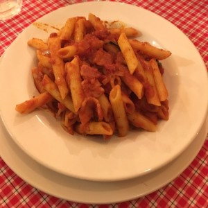 Penne all' amatricciana