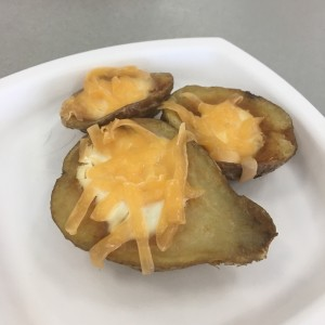 Potatoes skins
