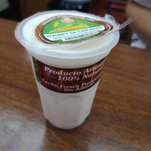 yogurt de chicheme