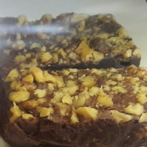 Fudge Brownie con nueces