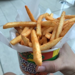 jumbo fries (chicas) sabor pizza 🍕
