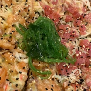 sushi pizza mixta