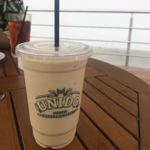 frappe de chocolate blanco