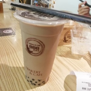 Coffe and Milk Bubble Tea