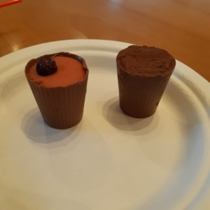 copitas de chocolate