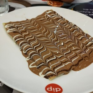 brownie crepe