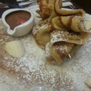 Crepes - cinnamon pouch crepe