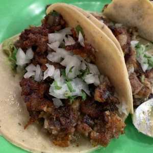 tacos de cochinillo