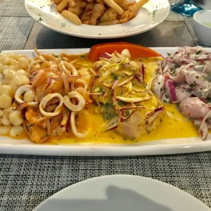 tres ceviches