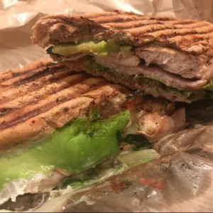 turkey chicken panini