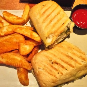 Panini Chicken Pesto