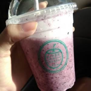 Blueberry Cocada