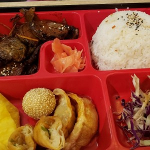 korean beef bento box