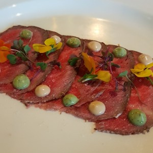 CHERRY SMOKED WAGYU CARPACCIO