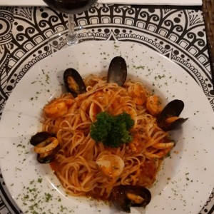 Linguini a la marinera