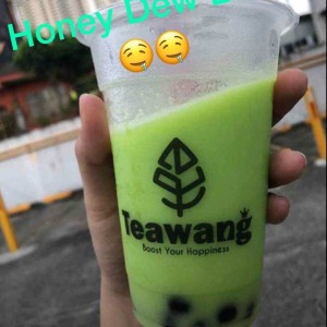Honey Dew Bubble Tea