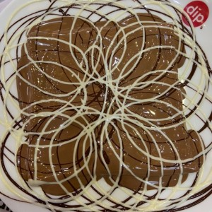 Crepes com 3 chocolates