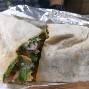 Chicken buffalo wrap