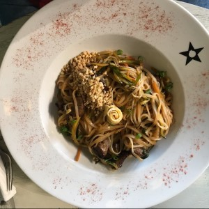 Pad Thai de Filete de Res