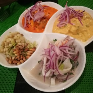 Ceviche tres volcanes