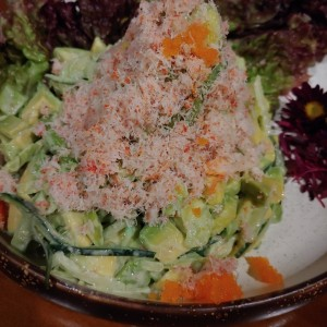 ENTRIES - KING CRAB SALAD