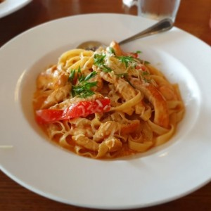 cajun chicken and shrimp pasta